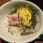 washokuizakayashummon - ランチ御膳のカニ酢飯