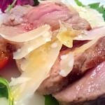 銀座 ポルトファーロ - 牛ロース肉のタリアータ