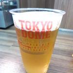 東京ドーム売店 - ビール 800円