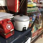 びいどろ - 炊飯器と赤電話…昭和です♪