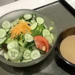 多加はし - 胡麻サラダ蕎麦