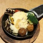 89414882 - グリル野菜とラクレットチーズ(1,450円)