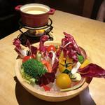 89414884 - 彩り野菜のバーニャカウダ(1,080円)