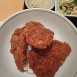 越後長岡 小嶋屋 - セットのタレかつ丼