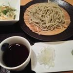 越後長岡 小嶋屋 - セットの蕎麦