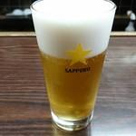 (有)旭屋酒店 - 自分お決まりの生ビール~