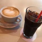 カフェ・デュ・マルシェ - カフェラテ&アイスコーヒー