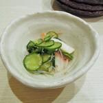 菜々海 - 付き出し