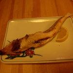 魚・旬菜小料理ととや - きすの塩焼き