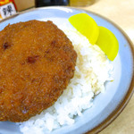 岩本町スタンドそば - ミニメンチ丼