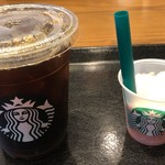STARBUCKS COFFEE - コールドブリューコーヒーと試供品