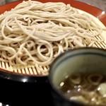 そば助大阪 - 盛り蕎麦580円
