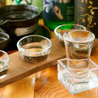 料理と一緒に味わう高知の地酒全10種