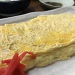 金時食堂 - ふっくら大きなだし巻き玉子(2018.7.18)
