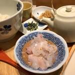 えん - だし茶漬け ごはん並(180g) 960円
