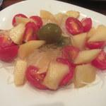 旬の野菜レストラン 農悠舎王隠堂 - フルーツサラダ