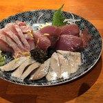 雑魚 - 刺身盛り合わせ