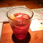渡海屋 - カシスソーダ