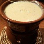 茶屋草木万里野 - バーニャカウダのソース