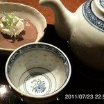 茶屋草木万里野 - プーアル茶 472円