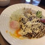 担々麺 錦城 - マヨかけ汁なし担々麺