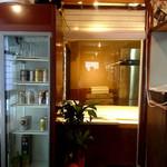純手打ち 麺と未来 - 内観③麺打ちスペース