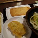 香川 一福 - おあげ   ¥150、とり天   ¥120