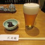 手打そば 元禄 - 生ビール