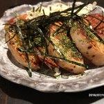 TAKO-SHOW - 山芋の鉄板焼き