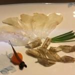 はまけん - 石鯛の薄作り