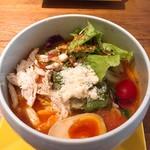 89439580 - 鶏白湯トマト麺