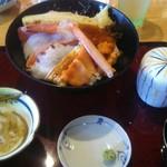 文七 - 料理写真:ちらしランチ