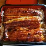 うなぎ千草 - うな重(上) ご飯大盛り 3,050円