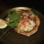 秀昌 - 蟹と蟹味噌の甲羅焼き