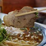 味の大西 - チェーシューワンタンメン 1350円