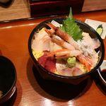 かどや - 瀬戸内産海鮮丼