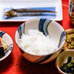 草喰 なかひがし - 白米