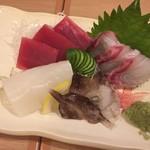 博多音羽鮨  - 刺身盛り合わせ