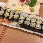 博多音羽鮨  - お新香巻き&かっぱ巻き