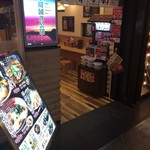 弟子屈ラーメン - お店の入口