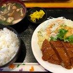 89445242 - 日替わりランチ ミンチカツ定食 ¥550