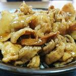 食堂 高田屋 - チャップ丼(豚バラたっぷり)