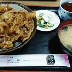 食堂 高田屋 - チャップ丼 750円