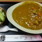 食堂 高田屋 - カツカレー 850円