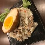 燻製卵ポテトサラダ