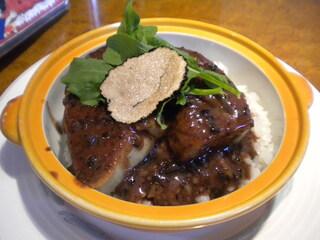 レストラン大宮 - フォアグラ丼