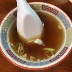 宝華らぁめん - スープ