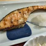 森町食堂 - 鮭塩麹焼定食