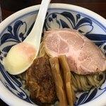 らーめん・つけ麺 吉田商店 - つけ麺トロコリ肉のせ¥900