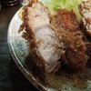 波止場 - 料理写真:「上ロースとんかつ」アタマの断面
